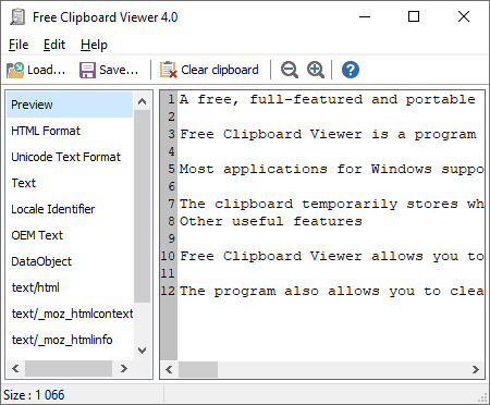Free Clipboard Viewer Windows Apps Appagg